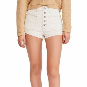 NWOT FREE PEOPLE Bridgette Denim Shorts